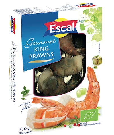Escal: King Prawns in Bio-Qualität